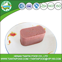 198g canned Spain exotic beef luncheon meat