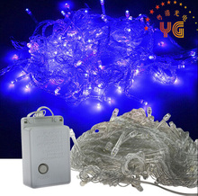Factory price EU/US Plug 30m 300led chasing christmas lights trade in lowes non led christmas light with 8 flash modes 110V/220V