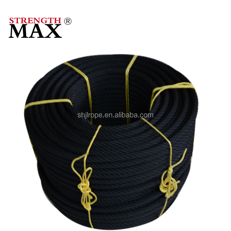 JINLI entertainment park nylon coated wire rope ladder parts