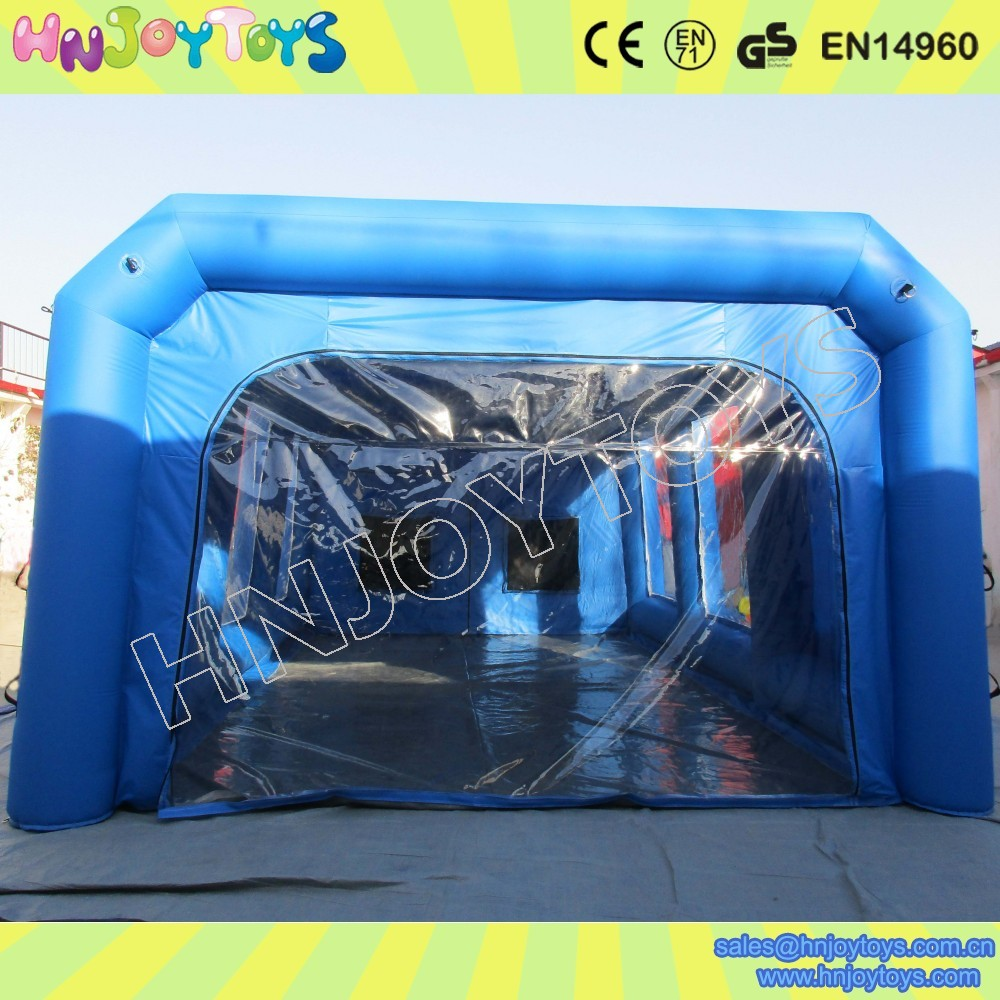 inflatable car garge tent inflatable car tent folding paint spary booth for sale buy. Black Bedroom Furniture Sets. Home Design Ideas