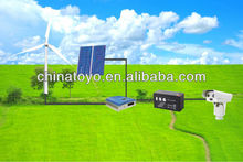 40W monitoring equipment with wind and solar power generation system