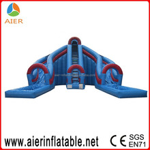 inflatable water slide new model, new inflatable water slide 2015, double lane inflatable water slide