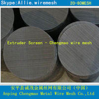 40 mesh Black wire cloth and iron filter mesh.