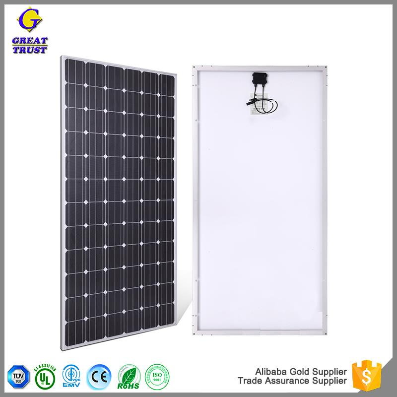 Hot selling solar panel backsheet 12v 100w solar panel price price 1000w solar panel