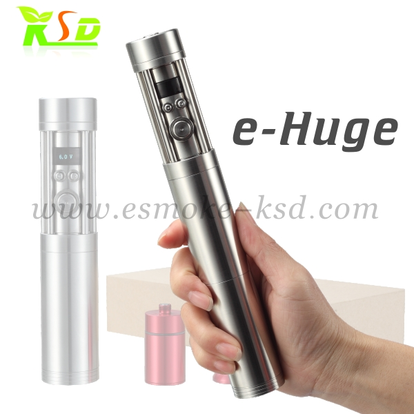 electronic cigarette mod vamo BAM 26650 battery e-huge,newest vv vw ecig stainless steel vamo electronic cigarette e huge
