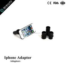 Ophthalmic slit lamp adaptor for Iphone
