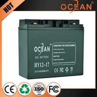 New arrival luxury 12V 17ah various styles dry cell battery ups