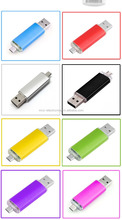 OTG Usb Flash Drives,OTG Usb For Smartphone & PC Pendrive Memory Stick OTG Ultra Dual 16GB USB Micro Pen Flash Driver