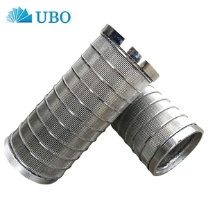 stainless steel wedge wire drum screen filter