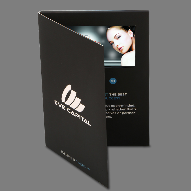 world best selling products magnetic generator video brochure cards
