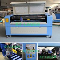 Multifuction XTE-1610 dual laser heads Co2 Laser Cutting Machines/Co2 Laser Engraving Machines
