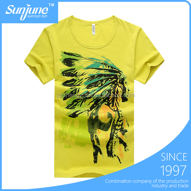 Women slim fit cotton custom printed t-shirt