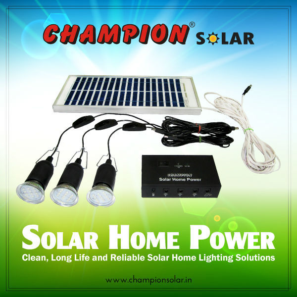 Champion Solar Home Power