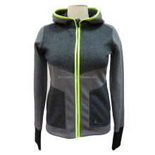 women's sports wear casual hoodie style slim pattern anti cold wind and rain for autumn