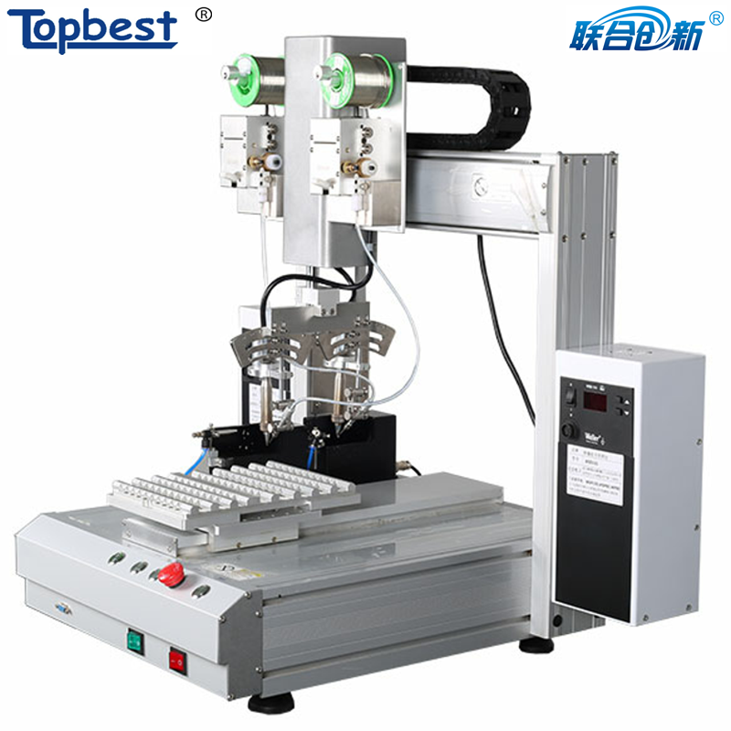 Hot sell bench-top automatic soldering machine for electronic assembly soldering