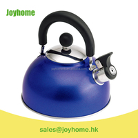 2.0L colorful stainless steel whistle kettle