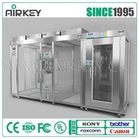 Hardwall and air shower or sliding door class 100 clean room