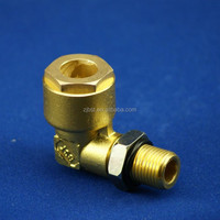 Truck Auto Parts Brass Elbow Air Fitting Pneumatic Fitting