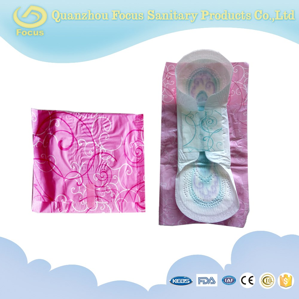 Mesh Surface Lady Anion Sanitary Towel