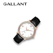 NEW design japan movement genuine diamond quartz watches