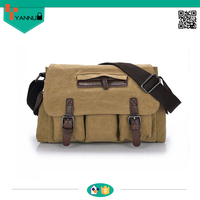 new fanshionable made china contracted pockets vintage canvas bulk wholesale handbags shoulder bag men