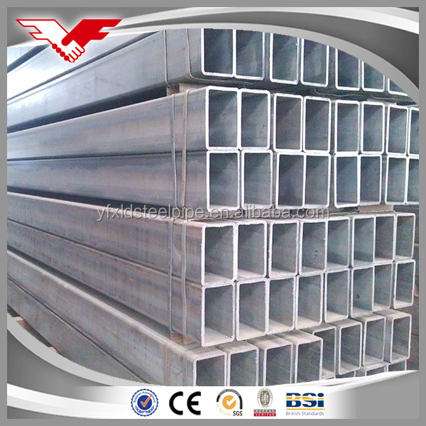 High quality low price rectangular hollow section pipe China supplier