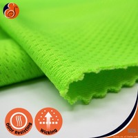 EYSAN Antiodor Wicking Bird Eye 100% Polyester Sportswear Fabric