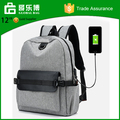 Alibaba China Suppliers Online Shop Laptop Backpack USB Bag