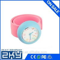 2013 Hot selling silicone Slap quartz watch for young people
