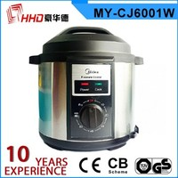 Instant pressure cooker pot suitable for rice/congee boiling