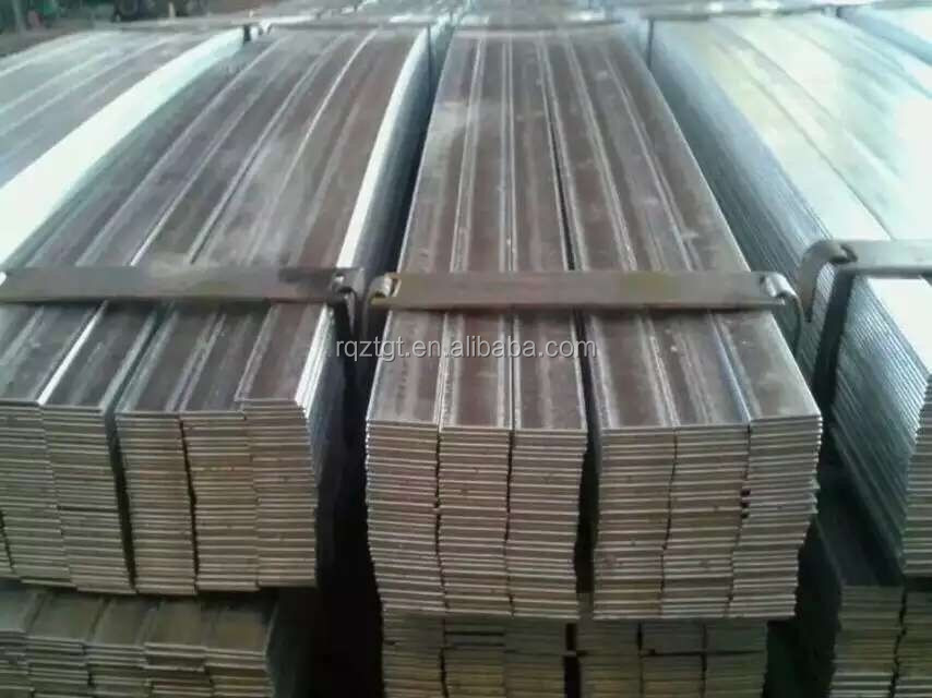 building rew material flat bar/channel steel made in china