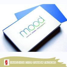 Hot selling trendy glossy lamination desk name card