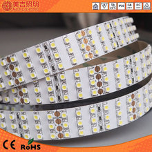 6-7lm /led 12v white 2 years warranty highlightness 3528 led strip