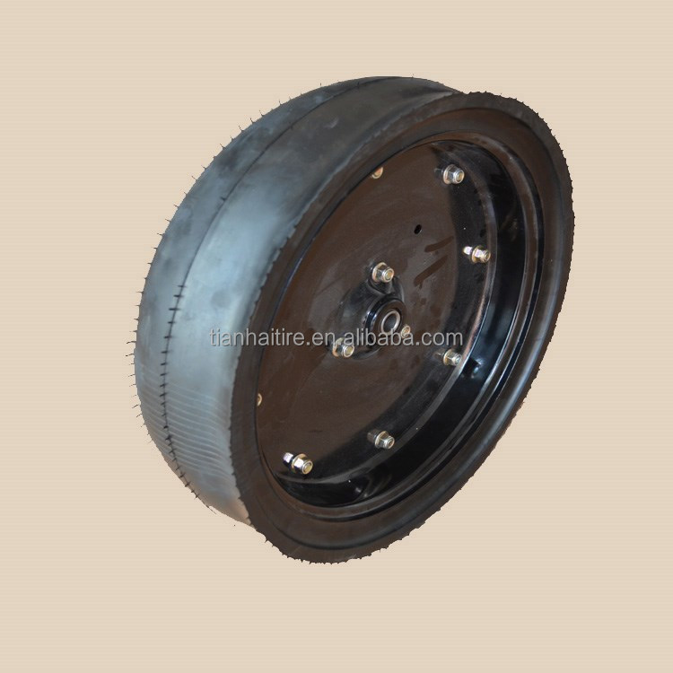 "16""X4.5"" semi pneumatic rubber wheel for Greatplains agricultural seed drill"