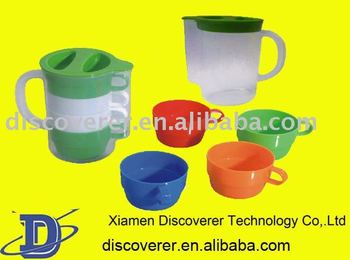 2015 hot sale plastic injection moulds for cups bottles boxes cans plates cases
