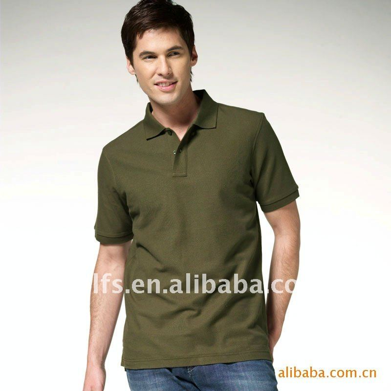 2012 men's short sleeve fashion polo shirt
