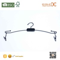 Eisho stainless steel durable lingerie bra metal hanger