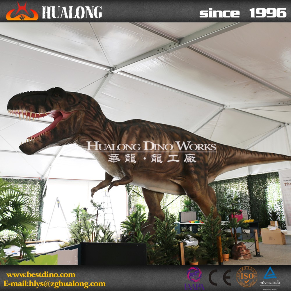 The shopping mall decoration robotic dinosaur