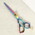PLF-55SS Japanese 440C Stainless Steel Rainbow Color Professional Hair Scissors