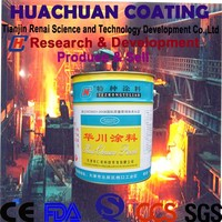 600 Degree Centigrade Organic Silicon Aluminum Powder High Temperature Paint
