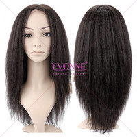 2015 New products brazilian lace front wig for black women