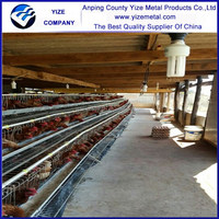 Prefabricated Houses/farm industrial design/poultry farm heating system popular in kenya , Uganda, Nigeria , Mozambique