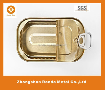 Empty sardine can easy open lid buy easy open aluminum for Empty sardine cans