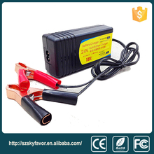 27.6V 1.5A for 24V 4Ah to 20Ah lead acid battery mobility portable electric scooter battery charger