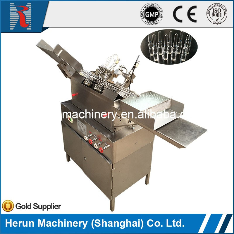 LSAG-2 Factory price pharmaceutical ampoule and vial filling sealing machine