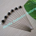 Decorative 55mm Round Shaped Craft Making Metal Pearl Head Pin