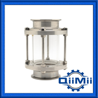 Sanitary Threaded tank Sight Glass Stainless Steel
