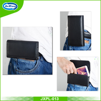 2016 hot sale high quality PU leather pouch case for iphone 6 with belt clip