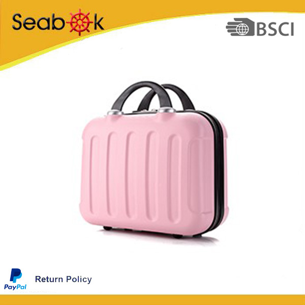 Newest Style Mini-briefcase And High Quality With Zipper ABS Luggage For Travel
