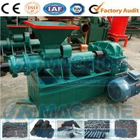 The most valuable coconut shell charcoal powder briquette screw machine